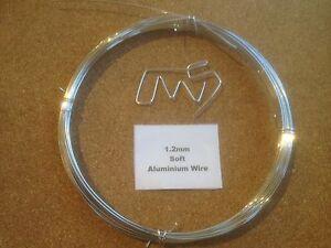 1-2mm-x-10m-18-SWG-SOFT-Aluminium-Wire-Floristry-Craft-Jewellery-Bonsai-Model