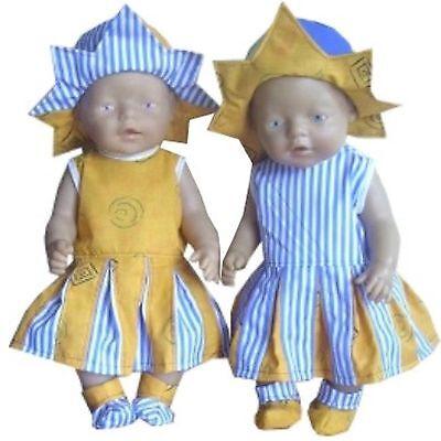 Babypuppen & Zubehör FäHig Pk38 Puppenkleidung Für Baby Puppen 43cm Spezieller Kauf