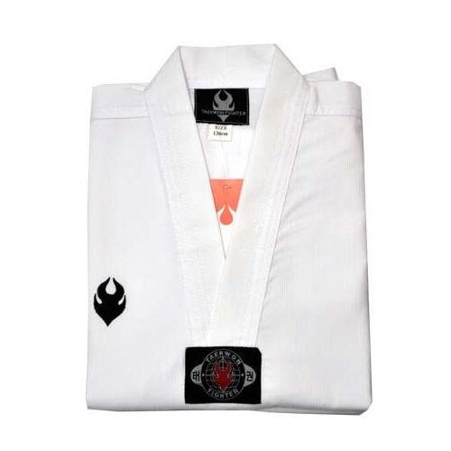 FIGHTER TKD TaeKwonDo uniforms Tae Kwon Do uniform DOBOK WHITE collar F S