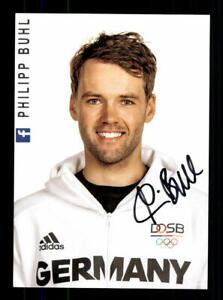 Philipp Buhl Autogrammkarte Original Signiert Segeln