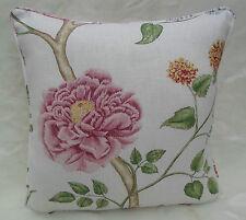 Sanderson Fabric Cushion Cover 'Summer Tree' Lilac  100% Linen - Painters Garden