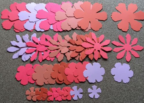 Scrapbooking in Flamingo Sizzix Tattered Florals Flowers Card Making