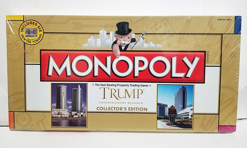 Trump Monopoly, Rare Sealed Collectors Edition, Vintage from Trump Atlantic City