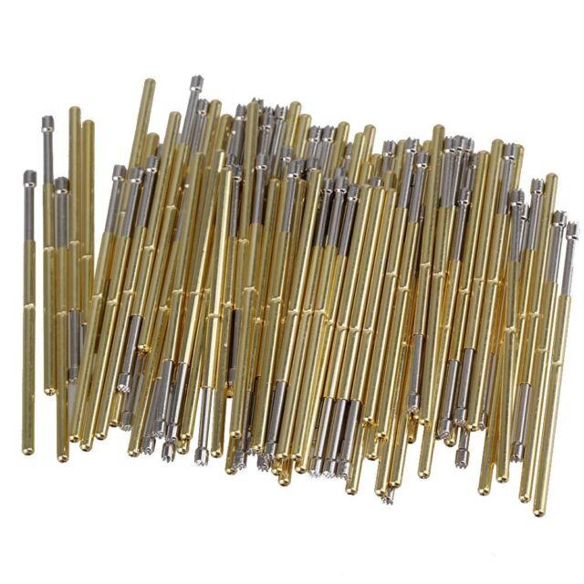 20XPL75-B1 Spear Tip Spring Loaded Pogo Pin Dia.1.02mm Electrical Probe for JTAG