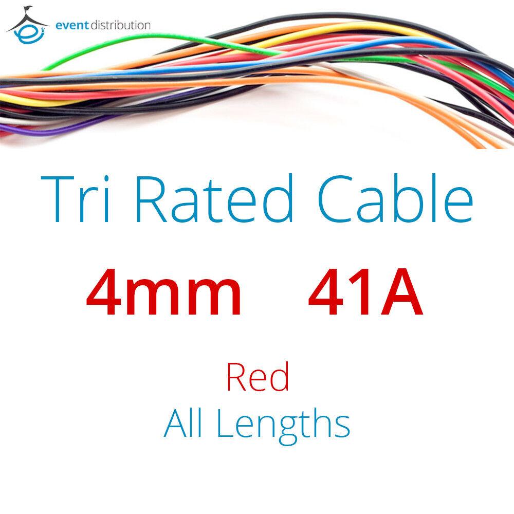 5M Black 1.5mm 21Amp 12v Automotive Cable Wire Marine