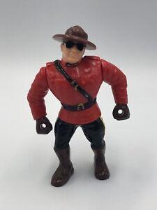 WWF-Hasbro-The-Mountie-Wrestling-Action-Figure-1993-Series-5-Vintage-WWE-Canada