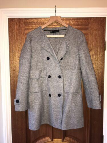 Coat Grey Ladies Ladies Zara Zara Zara Grey Zara Coat Grey Ladies Coat EX4xq4Sw