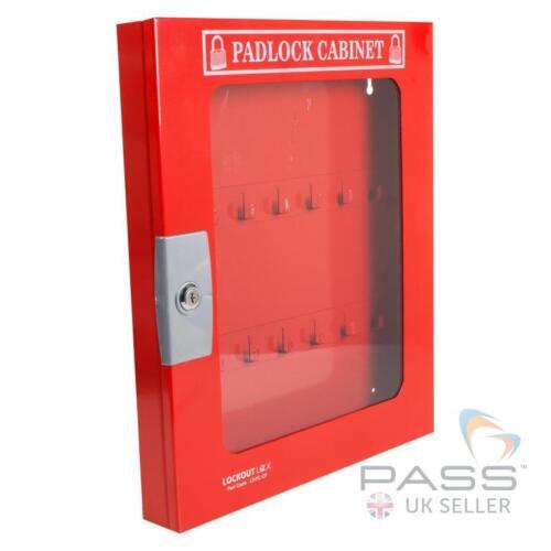 Bloqueo tagout Candado Gabinete Con Cerraduras clara Fascia - 42