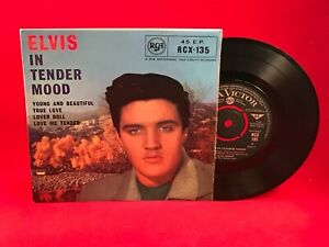 ELVIS-PRESLEY-In-Tender-Mood-EP-1964-UK-7-034-Vinyl-Single-EXCELLENT-CONDITION
