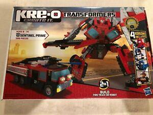 Sentinel Prime #30687 KRE-O TRANSFORMERS Construction w// 4 Kreons NEW Kre o