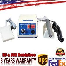 Dental Lab Micromotor Marathon Polishing Machine With Handpiece 35k Rpm Us New