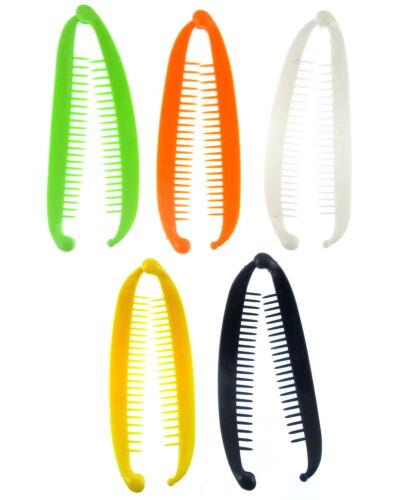 Farbauswahl Leuchtend Lang Banane 15.cm Haarspange