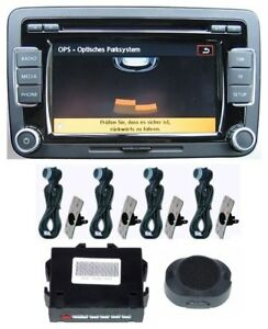 ops optical pdc parking aid parktronic for vw radio rcd. Black Bedroom Furniture Sets. Home Design Ideas