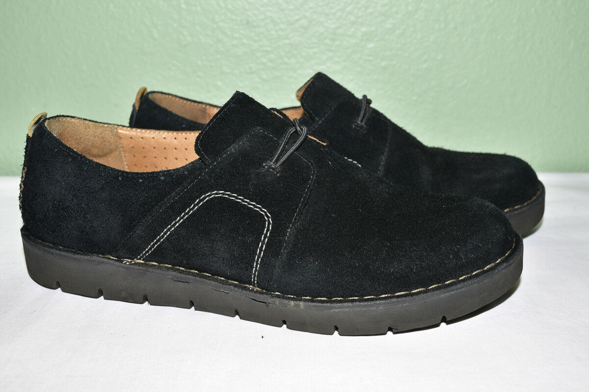 Clarks Unstructured Oxford Loafer Slip On Suede Women's US 9 M