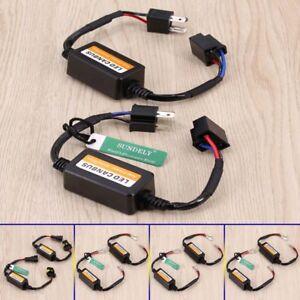 2x-Led-Light-Bulb-Canbus-Error-Free-Anti-Flicker-Resistor-Canceller-Decoder