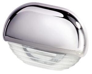 Hella Marine Courtesy Step Lamp White Light Led 12v 24v Chrome Cap 998560001 Ebay