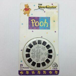 Vintage-Tyco-1995-View-Master-Winnie-the-Pooh-3-Reel-Set-Sealed-Unopened-3083