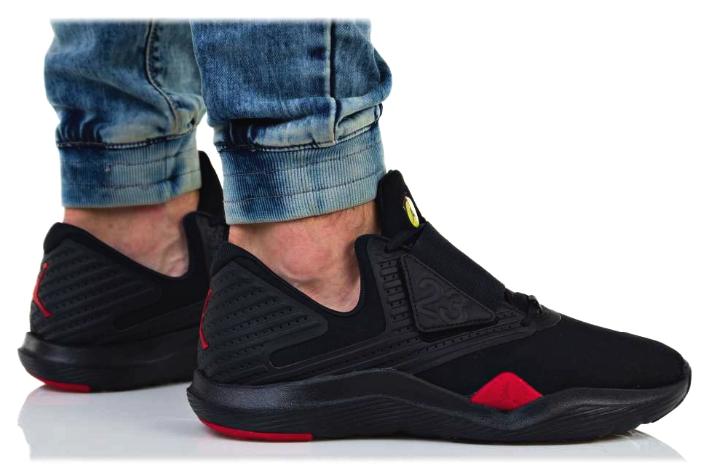 New AIR JORDAN Relentless Sneaker Mens black red all sizes