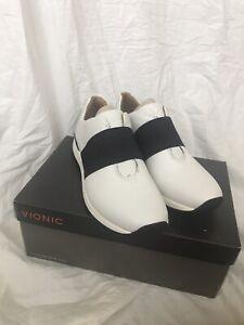 Vionic Codie Sneaker 8.5 White Leather