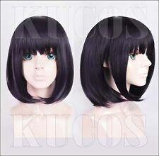 Kuzu no Honkai Hanabi Yasuraoka Bobo Wig Hair + Hair Cap Cosplay 2017 Sa B