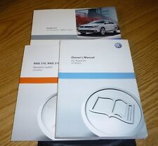 volkswagen cc owners manual includes rns rns 315 navigation system rh ebay co uk Instruction Manual Book Instruction Manual