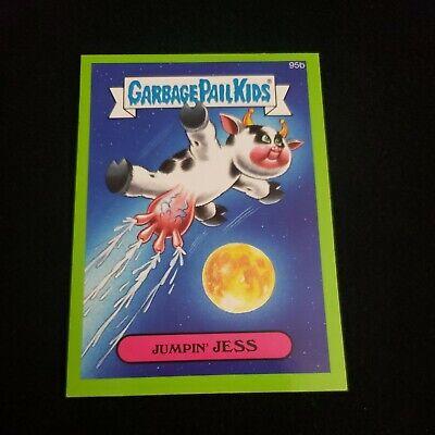 Garbage Pail Kids 2014 Series 2 Topps Sticker 95b Jumpin' Jess