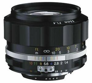 Voigtlander-2016-NOKTON-58mm-F1-4-SL-II-Ai-S-Black-Rim-for-Nikon-F-Mount-NIB