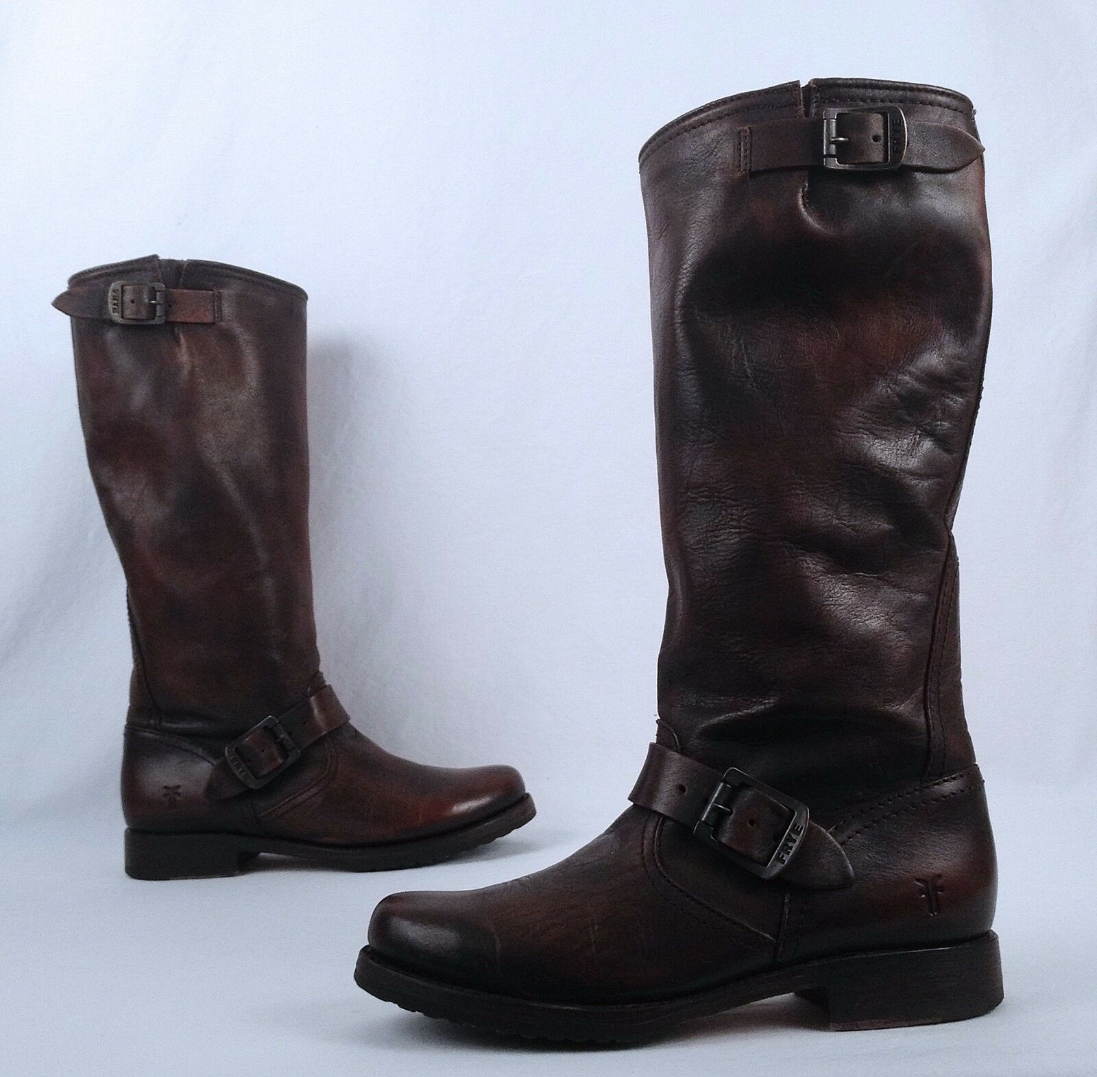 Frye 'Veronica Slouch' Boot- Brown- Size 6.5 B  (B70)