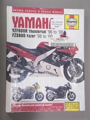 Yamaha YZF600 Thundercat & FZS600 Fazer 1996-2003 Haynes Handbuch ...