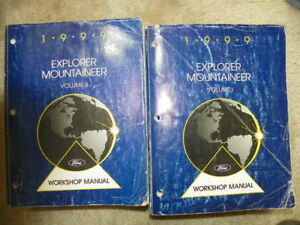 1999 Ford Explorer Mountaineer Service Manuals | eBay