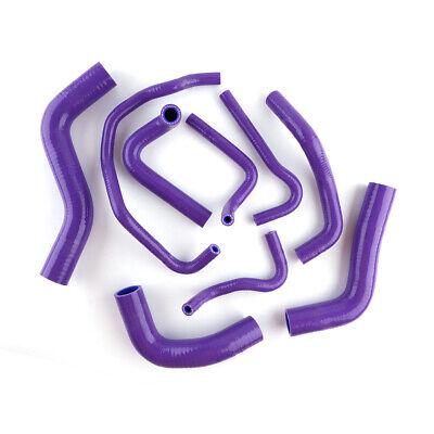 For MAZDA Roadstar Miata MX-5 NA6CE B6ZE 1.6 Silicone Radiator Hose Purple 89-93