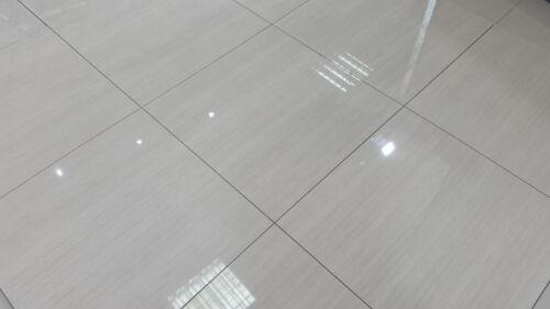 LIBERTY GREY High Gloss Pre-sealed Polished Porcelain 60x60 WALL /& FLOOR Tiles