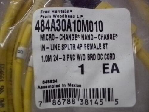 BRAD HARRISON 484A30A10M010 MICRO-NANO CHANGE LINE SPLTR 4P FEMALE NEW QUANTITY!