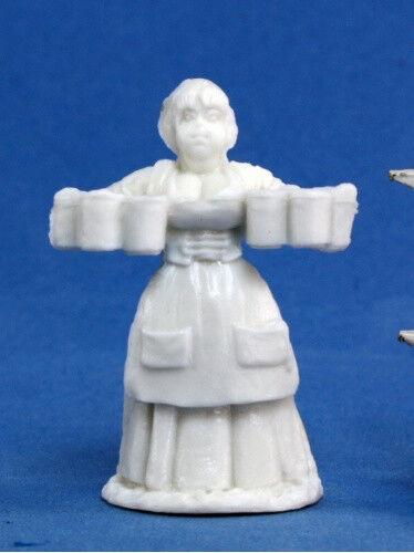 Reaper Miniatures Townsfolk:Wench #77085 Bones Plastic D/&D RPG Mini Figure