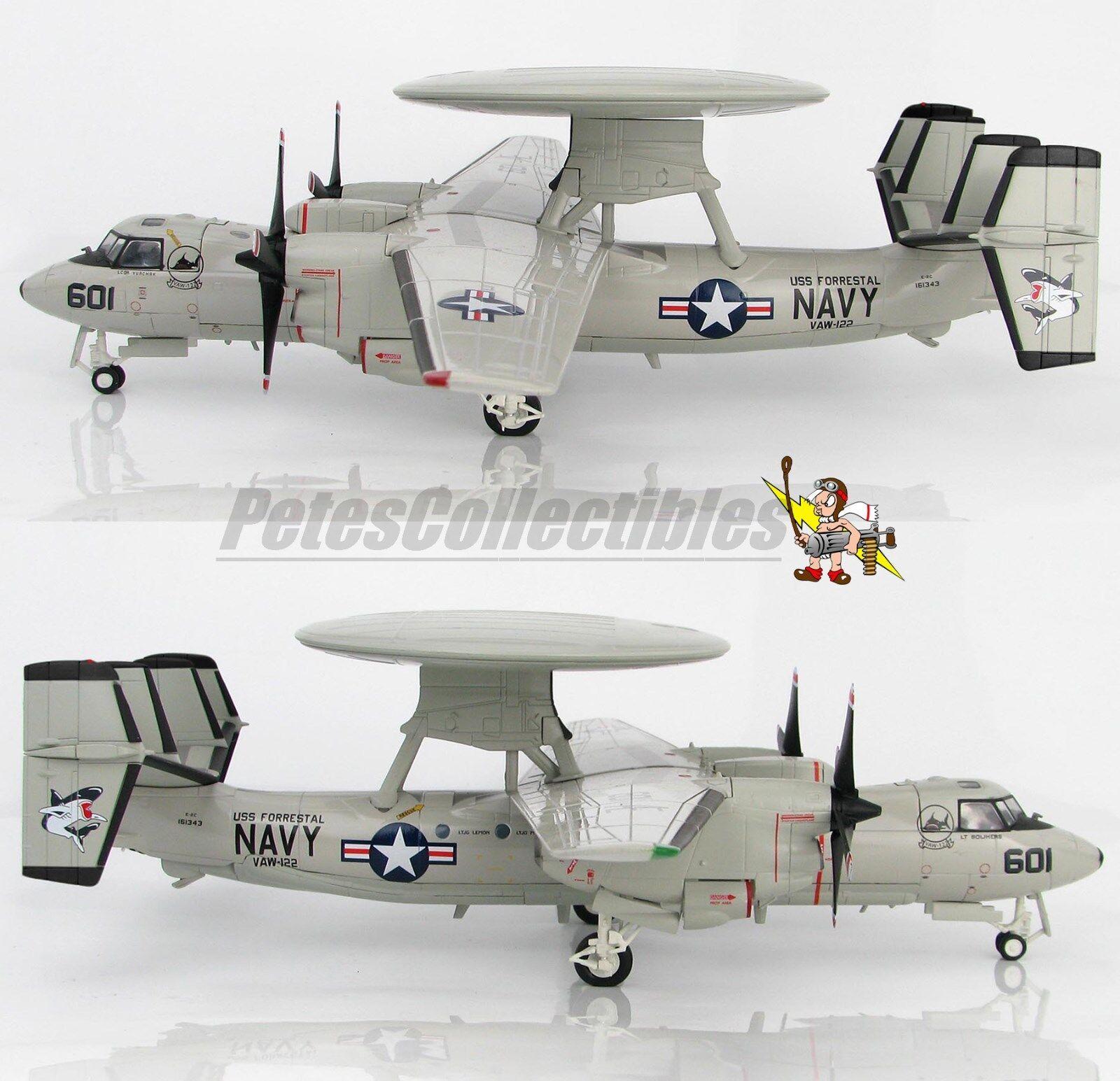 Hobby Master HA4810 HA4810 HA4810 E-2C Hawkeye VAW-122 Steel Jaws USS Forrestal 1991 1 72nd b588d1