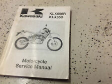 Werkstatthandbuch Reparaturhandbuch Kawasaki Klx 650 R Sprache Deutsch Gunstig Kaufen Ebay