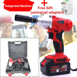 Torque-280n-m-68V-Integrated-Electric-Impact-Wrench-Cordless-Rechargeable-680-W