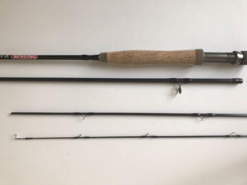 Fly Fishing Rod MASTERLINE full carbone 4 pièces 9 ft environ 2.74 m Sac en tissu Rod AFTM 5//6