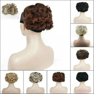 Ponytail-Clip-on-Short-Curly-ponytail-Extensions-hair-Hairpiece-Hair-Clip-Buns