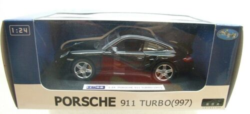 Porsche 911 Turbo Black Joy City 1:24