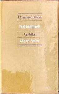 TRATTAMENTI - PATRISTICA - S. FRANCESCO DI SALES - PAOLINE