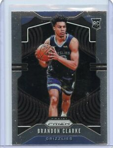 Brandon-Clarke-2019-20-Panini-Prizm-basketball-rookie-card-RC-266-Grizzlies-NM