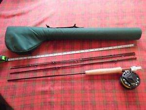 """CABELLAS PRESTIGE 8'-6"""" FLY FISHING ROD AND REEL COMBO 4 WEIGHT"""