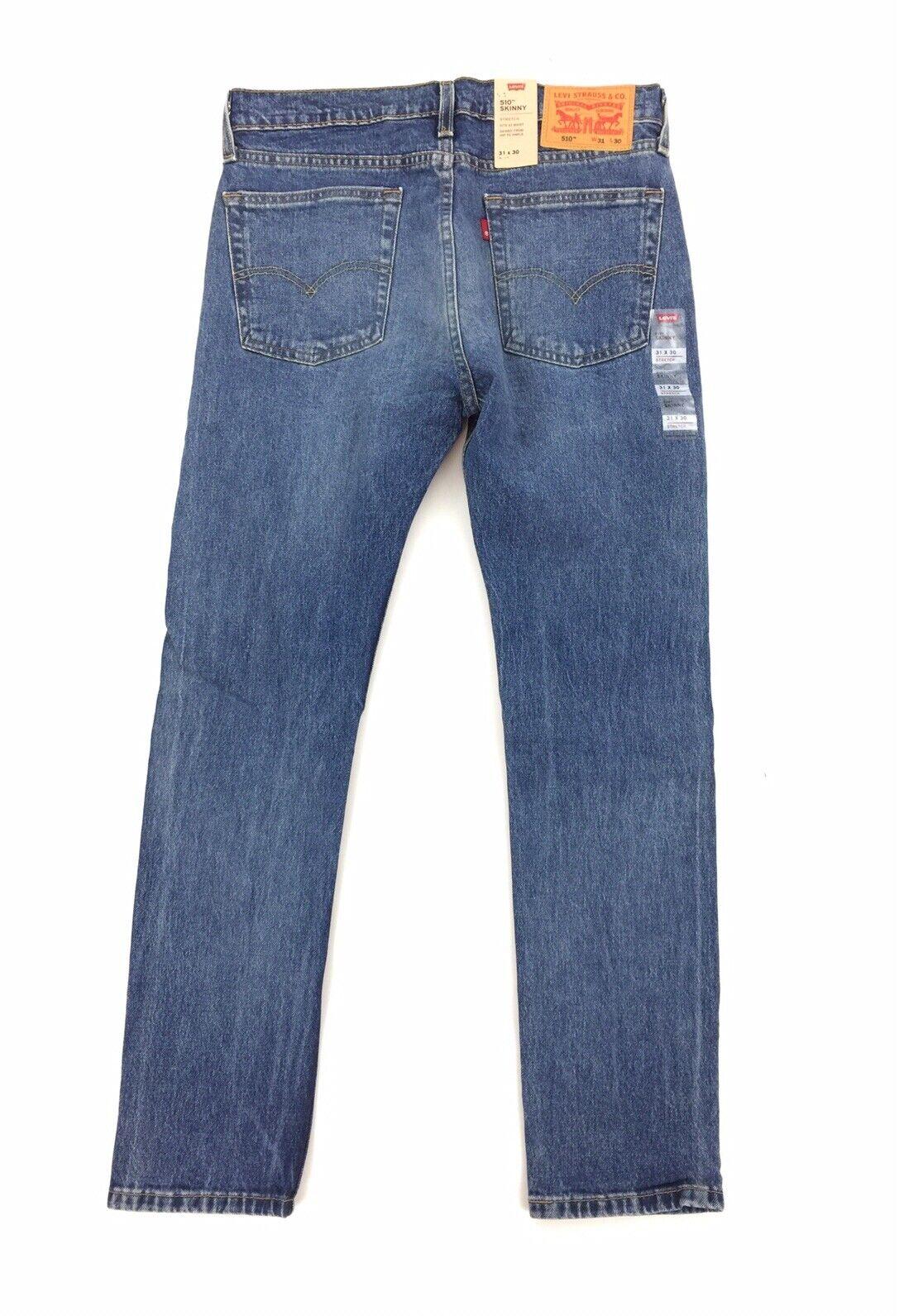 Details about  /Levis mens 510 super skinny green black blue jeans 30x30 32x28 32x30 32x32 show original title