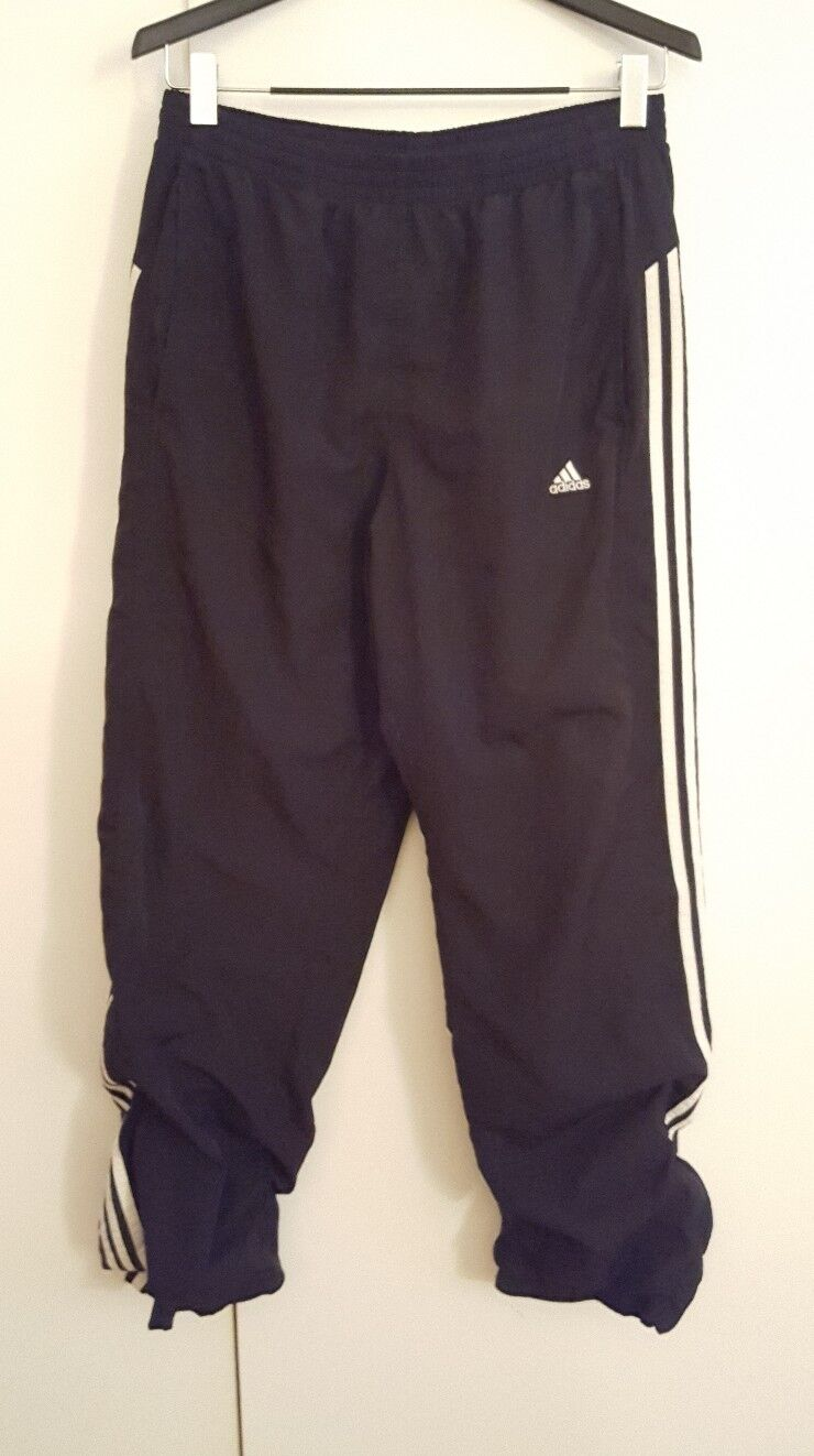 ADIDAS CLIMA 365 MENS KUNG FU-YOGA-WORKOUT MIT LOUNGE-HÜGEL BLACK LARGE