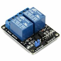 2-Kanal Relais Modul 5V/230V Optokoppler 2-Channel Relay Arduino Raspberry Pi