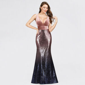 Ever-Pretty-Elegant-Sequins-Evening-Dress-Long-Fishtaill-Velvet-Ball-Gown-07767