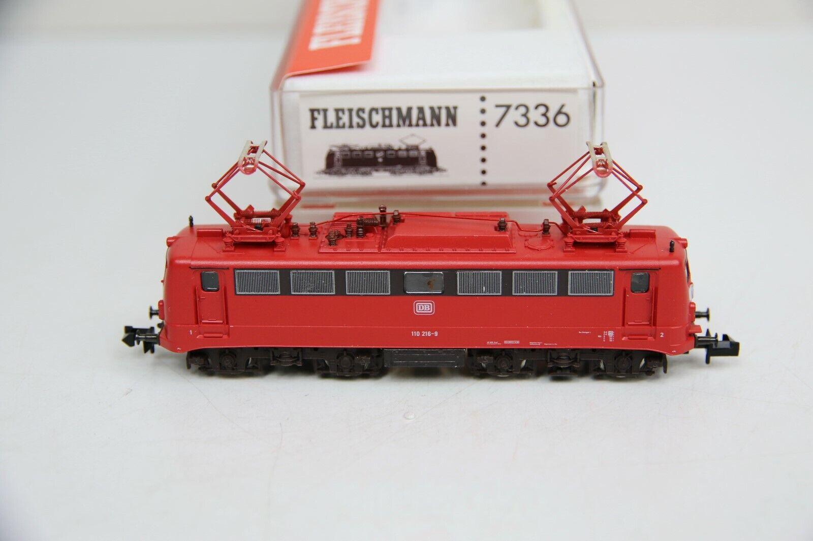 Fleischuomon Spur N 7336 ELok BR 110 2169 delle DB in OVP rb9360