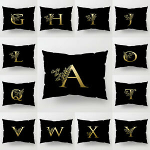 Am-Modern-Letter-Square-Pillow-Case-Cushion-Cover-Sofa-Bedding-Home-Decor-Eyefu