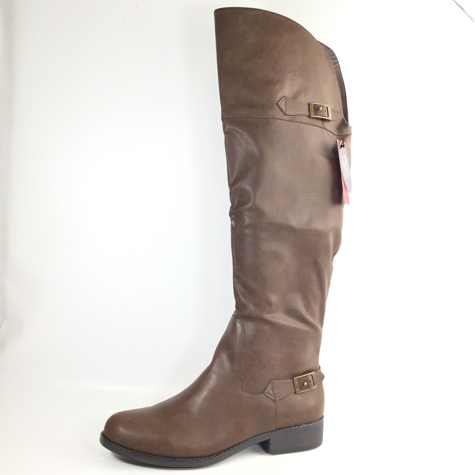American Rag Ada Womens Size 11 M Brown Over The Knee Boots